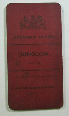 1899 Old OS Ordnance Survey Ireland One-Inch Second Edition Map 15 Dunglow