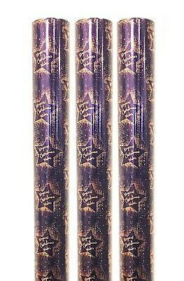 Christmas Gift Wrap Paper 3x4M Rolls Wrapping Present Xmas Bulk Navy Rose Gold