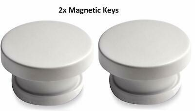 2x Child Safety Magnetic Key for Invisible Cupboard Locks Protect your Kids