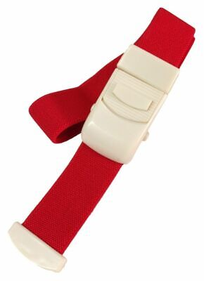 Tourniquet Quick Release Blood Red Reusable Band Buckle Elastic IV Therapy Hand