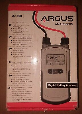 Argus AA300 Basic Digital Battery Tester and System Analyzer
