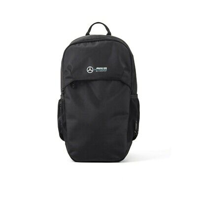 Mercedes AMG Petronas F1 Team Logo Backpack Black Free UK Ship
