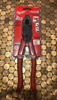 """NEW FREE SHIPPING. DOYLE 9.5/"""" LINEMAN/'S HIGH LEVERAGE PLIERS W//CRIMPER 64571"""