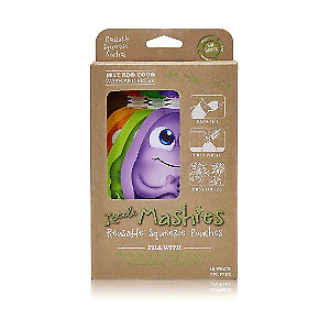 Little Mashies Reusable Squeeze Pouch x 10