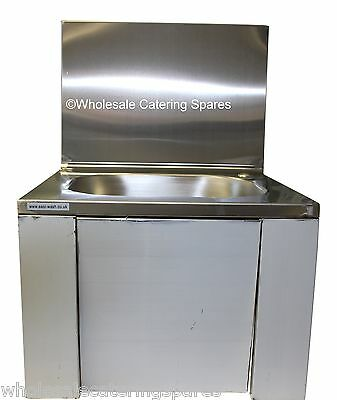 KNEE Operated Sink 420 x 400 x 600mm With Tap Stainless Steel BRAND NEW