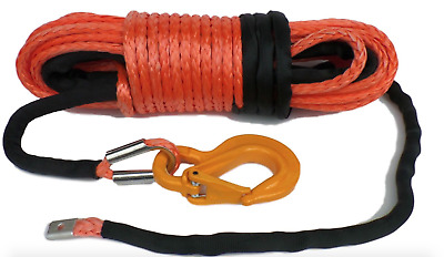 13mm Dyneema SK75 synthetic winch rope  14800KG break strain off road  Winch-it