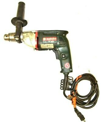 "120V Metabo 3/8"" Industrial Drill with 1/2"" Chuck & Key"