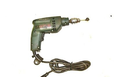 "120V Metabo 3/8"" Industrial Drill with 1/2"" Chuck & Key 0-2700 RPM"