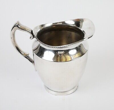 POOLE SILVER CO silver-plate Water Pitcher #1023
