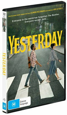 Yesterday (DVD) (2019) (Region 2,4,5) New Release