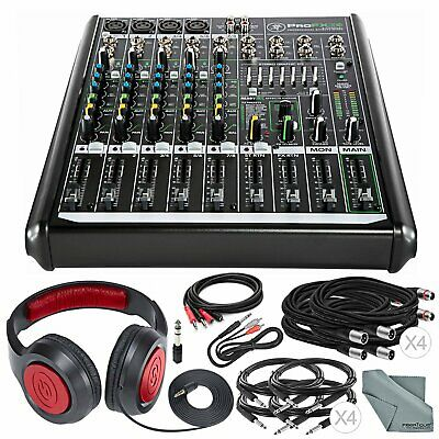 Mackie PROFX8V2 8-Channel Compact Mixer with Built-In USB Interface and Effects