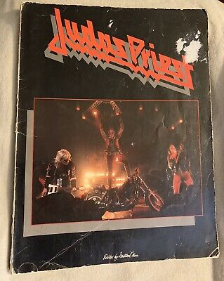 1982 Judas Priest Music chord songbook, as pictured