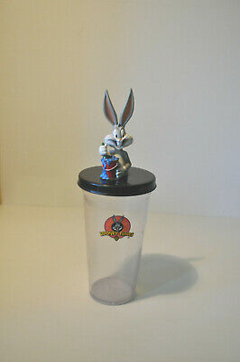 Bugs Bunny Acrylic Character Straw Tumbler Looney Tunes Warner Bros. Pre Owned