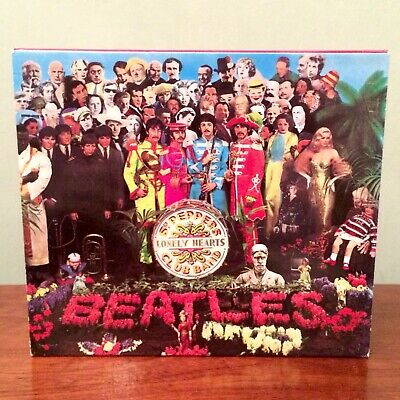 The Beatles - Sgt Pepper's Lonely Hearts Club Band CD - 1987 Release - Excellent