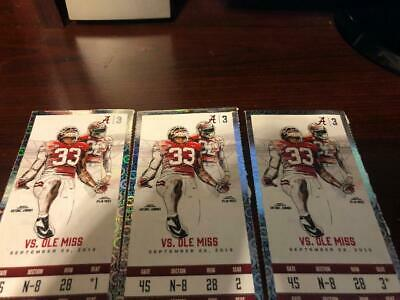 Alabama Vs Ole Miss 3 Tide Pride Lower Level Seats On The Isle 240.00 For All 3