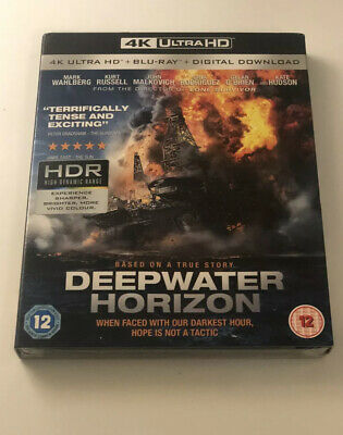 DEEPWATER HORIZON 4K ULTRA HD + BLU RAY + DIGITAL DOWNLOAD NEW & SEALED Free P&P