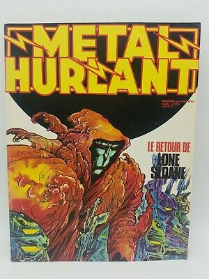 Metal Hurlant Magazine No 18 June 1977 Druillet. Mobius. Robial. French Language