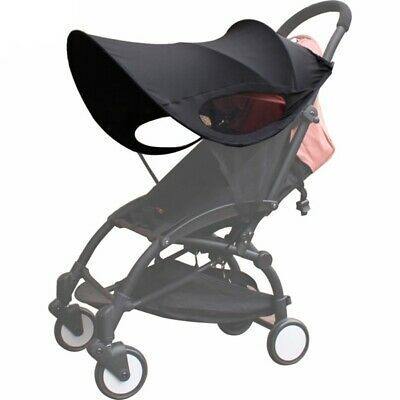 Upgraded version of Baby Stroller Sun Visor Carriage Sun Shade Canopy Cover U2A4