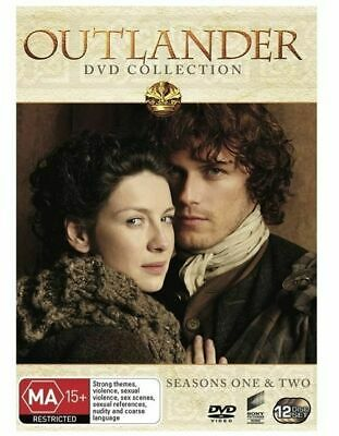* OUTLANDER 12 Disc DVD Collection Box Set Seasons 1 & 2 and Region 4 - NEW NIB