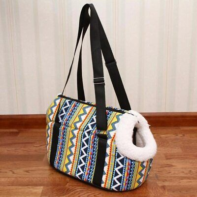 Portable Pet Dog Cat Travel Carrier Bag Tote Cozy & Soft Puppy Outdoor Handbag