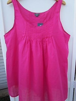 Patch Maternity pure cotton sleeveless tank top  Size L