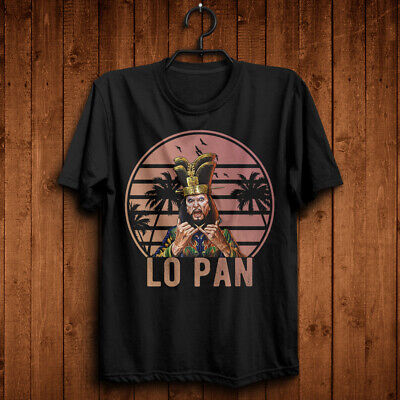 David Lo Pan Indeed Big Trouble in Little China Funny Black T-Shirt Gracie Law