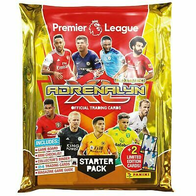 Panini Adrenalyn XL 2019-2020 Starter Pack  Binder + 26 cards New fast delivery