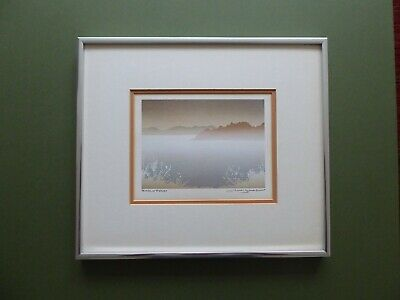 SUPERB Orig Vintage Late 20thC SERIGRAPH 'EARLY FROST' By Peter&Traudl Markgraf