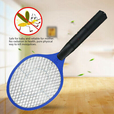 Insects Pest Repeller Mosquito Killer Fly Swatter Electronic Bug Zapper Racket