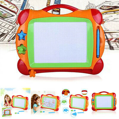 Erasable Magnetic Drawing Board Sketch Pad Doodle Writing Craft Art Kids Toy