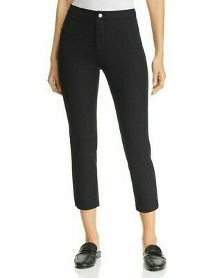Lysse Womens Mia Crop Flare Stretchy High Rise Pants Leggings Size M