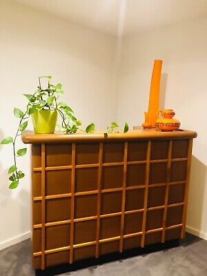 Amazing 1970's teak panelled bar
