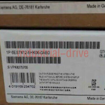 1PC New In Box Siemens 6ES7 412-5HK06-0AB0 One year warranty Fast delivery