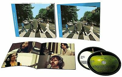 The Beatles CD x 2 Abbey Road 2019 ANNIVERSARY Edition 33 Track DIGI-Pk IN STOCK