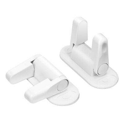 2PCS LETING Door Lever Safety Locks with Strong Adhesive for Baby / Child / Pet