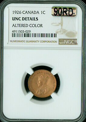 1926 CANADA CENT NGC MAC MS-63 RB 90RD or 90% RED   ..