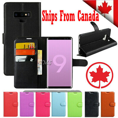 For Samsung Galaxy S8 S9 S10 Plus S10E Wallet Leather Cardholder Flip Case Cover