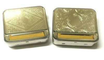 Silver Automatic Rolling Metal Machine Tin Cloth Blind Cigarette Roller