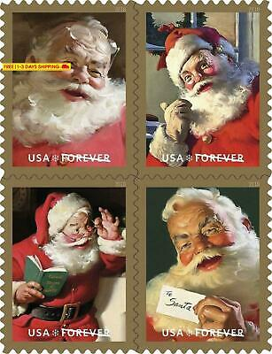 Sparkling Holidays - 2018 Usps Forever First Class Postage Stamp U.S. Forever 50