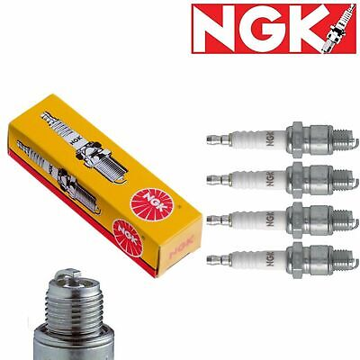 NGK SPARK PLUGS MARINE ENGINE NGK B7HS-10 #2129 SET OF 4 BOAT ENGINE IGNITION