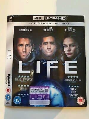 Replacement Slipcover For Life 4K Ultra Hd Uhd Blu-Ray **Card Sleeve Only**