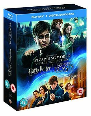 Harry Potter - Complete 8 Film + Fantastic Beasts [Bluray] New/Sealed Minor Wear