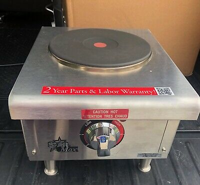 Star 501FF Star-Max French Style Burner Countertop Electric Hot Plate.
