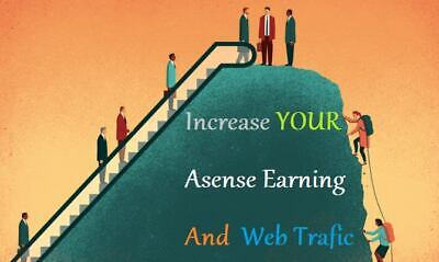 Increase Your Adsense Income and Traffic Income 100 Real Human Traffic