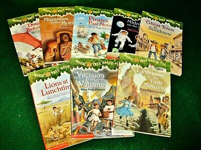Lot Of 8 Magic Tree House Chapter Books ~ Paperback ~ Good/Very Good