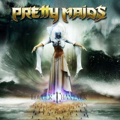 Pretty Maids Louder Than Ever Cd + Dvd Set New