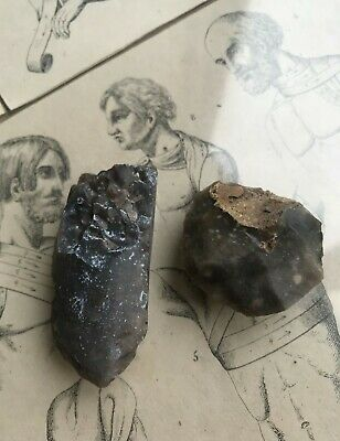 Neolithic tools of labor Puncture Scraper flint stone