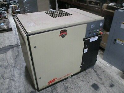 Ingersoll Rand Rotary Screw Air Compressor SSR UP6-15-125 15HP 460V 49,760 Hours