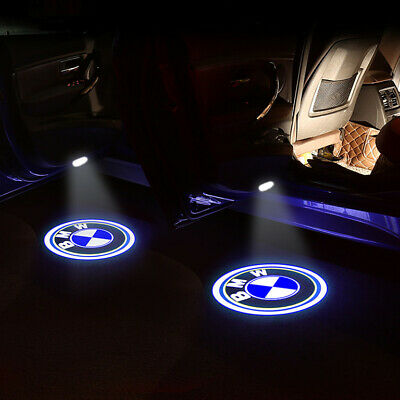 For BMW E39 X5 E53  E52 LED Door Step Courtesy Ghost Shadow Projector Lights 2X