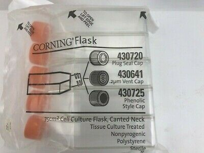 75cm2 Cell Culture Flask, Canted Neck Vent Cap Corning  #430641  (L218)